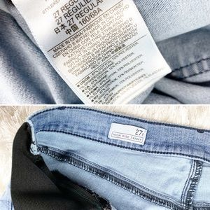 GAP Jeans - GAP High Rise Skinny Light Wash Maternity Jeans
